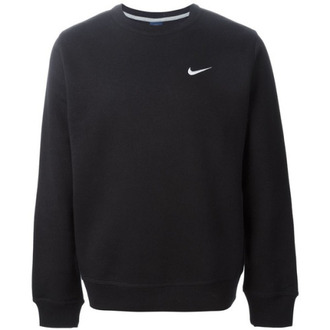sweater nike black logo jumper tumblr sweater grunge fall sweater winter sweater teenagers nike sweater black sweater black nike sweater