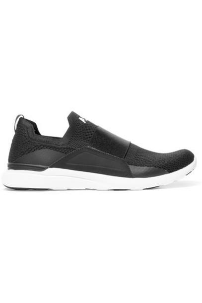 APL Athletic Propulsion Labs - Techloom Bliss Mesh And Neoprene Sneakers - Black