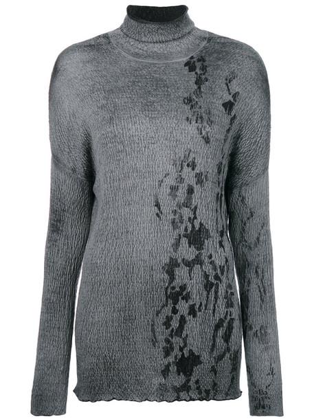 AVANT TOI jumper women silk grey sweater
