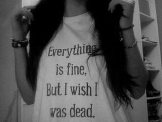 tank top muscle tee lana del rey earphones shirt quote on it sad quote t-shirt