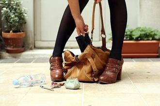 bag vintage back to school leather bag ankle boots shoes