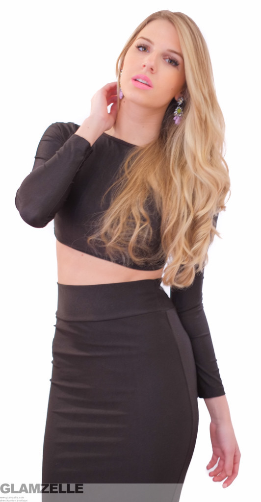 """""""we own the night"""" two piece bodycon dress (4 colors available) – glamzelle"""