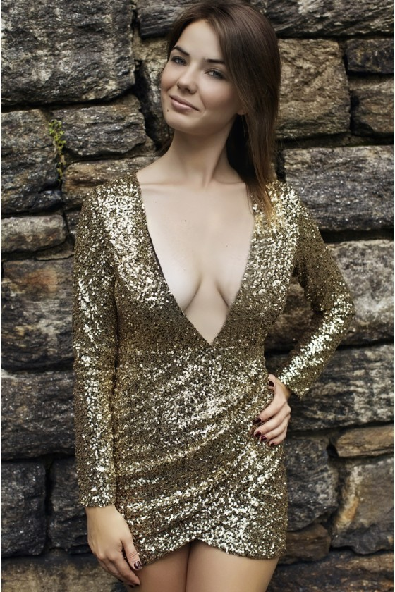 Sequin Charm Dress | Haute Rogue
