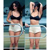 swimwear,short,High waisted shorts,selena gomez,bikini,bikini top
