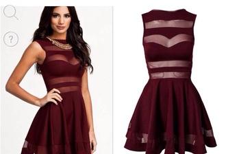 dress burgundy wine dress mini dress mini