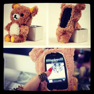 phone cover teddy cute phone iphone teddy bear kawaii iphone cover