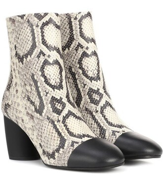 leather ankle boots ankle boots leather beige shoes