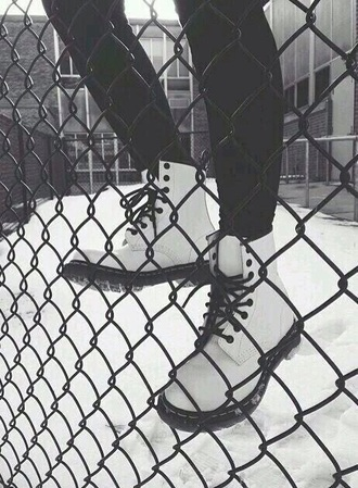 shoes white boots like these
