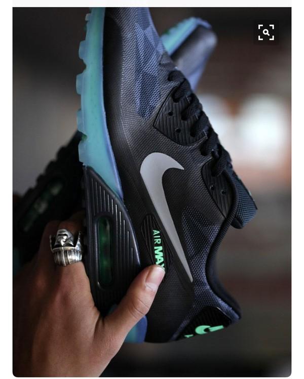 shoes nike black sneakers low top sneakers air max