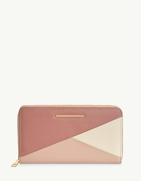 Stradivarius purse nude pink bag