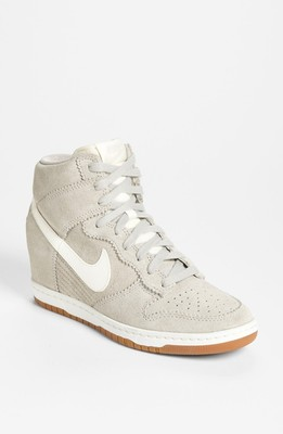390449497fd Nike  Dunk Sky Hi  Wedge Sneaker (Women) Womens Pale Grey  W ...