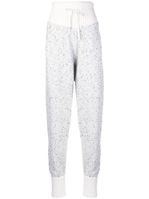 Alessandra Rich Knitted Track Pants - Farfetch