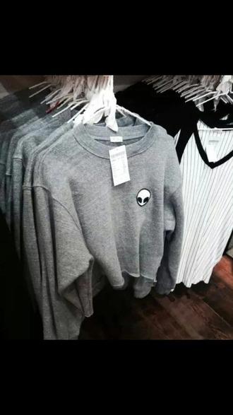 sweater ovni gris