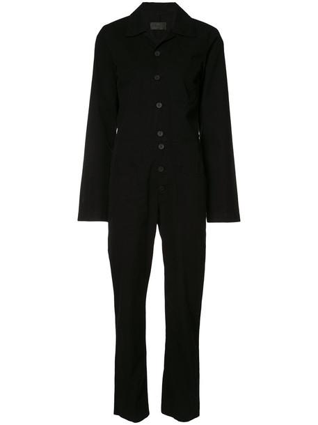 rta jumpsuit women cotton black