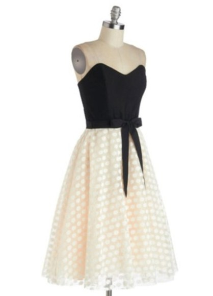 polka dot dress little black dress a line a-line dresses
