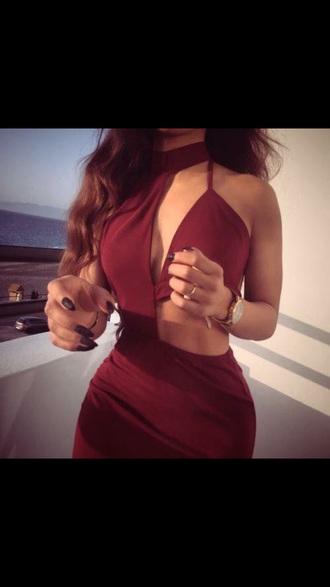 dress summer dress red dress fashion vibe