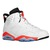 Jordan Retro 6 - Men's - Basketball - Shoes - White/Infrared 23/Black