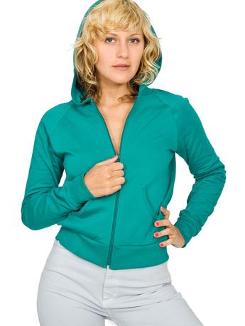 California fleece zip hoody