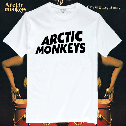 Arctic Monkeys Rock Band T Shirts AM001-in T-Shirts from Apparel & Accessories on Aliexpress.com