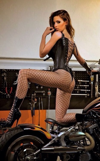 shoes high heels sexy leather corset fishnet stockings boots black sexyinleather leather corset fishnet tights