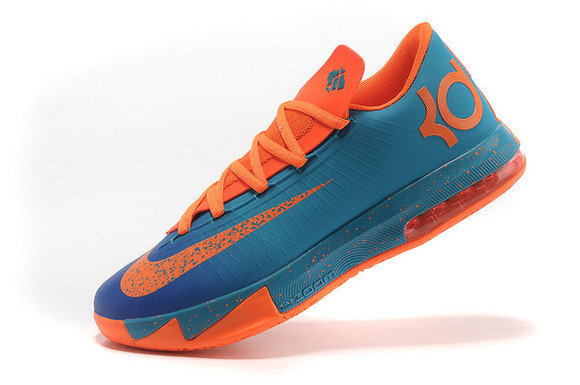 shoes blue shoes orange shoes kevin durant