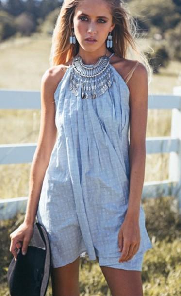 dress blue summer