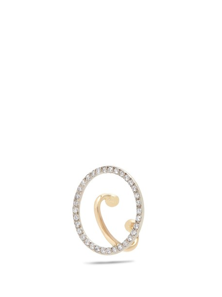 CHARLOTTE CHESNAIS FINE JEWELLERY cuff ear cuff gold jewels
