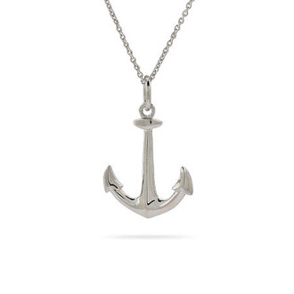 jewels anchor necklace summer ocean