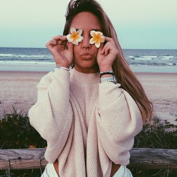 sweater jumper tumblr tumblr girl tumblr clothes tumblr outfit oversized sweater fluffy winter sweater winter outfits knitted sweater pink beach tumblr sweater