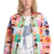 ROMWE | ROMWE Small Cakes Print Long-sleeved Jacket, The Latest Street Fashion