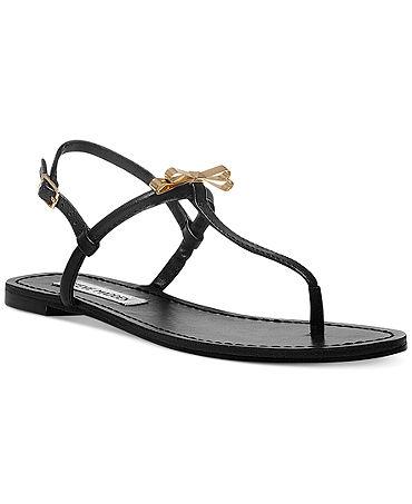 Steve Madden Women's Daisey Flat Thong Sandals - Lingerie - Women - Macy's