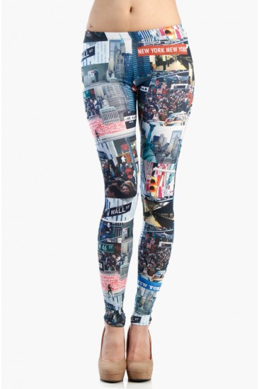 LoveMelrose.com From Harry & Molly | NEWYORK NEWYORK LEGGINGS