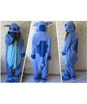 pajamas,stitch kigurumi,blue,fashion,style,kawaii,cute,warm,trendy,onesie,winter outfits,teenagers,it girl shop