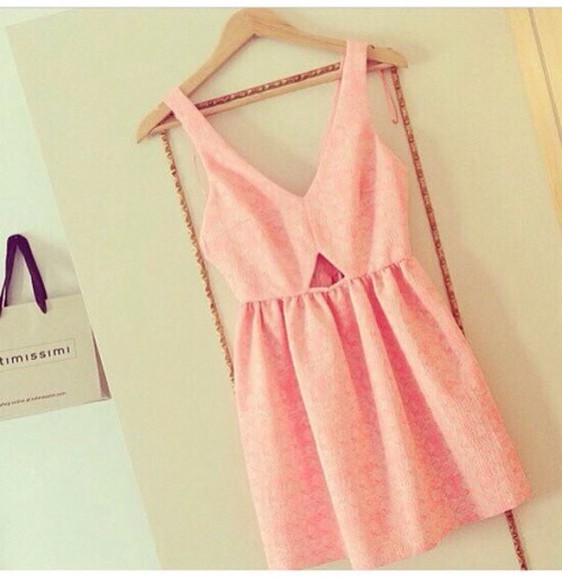 dress pink dress short party dresses peach dress peach dresses