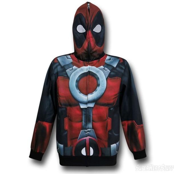 deadpool marvel comics costume