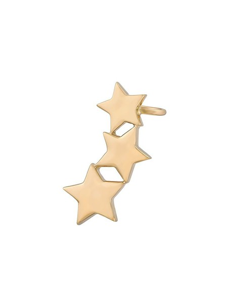 Alinka cuff women triple ear cuff gold yellow grey metallic jewels