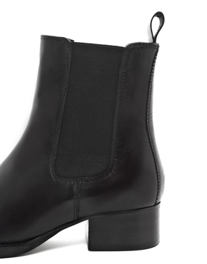 ASOS | ASOS ADVERSE Leather Chelsea Ankle Boots at ASOS