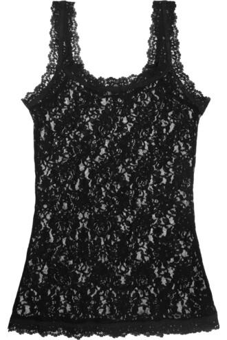 camisole lace black underwear