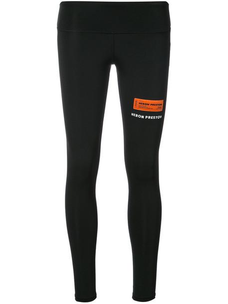 Heron Preston leggings women spandex fit black pants