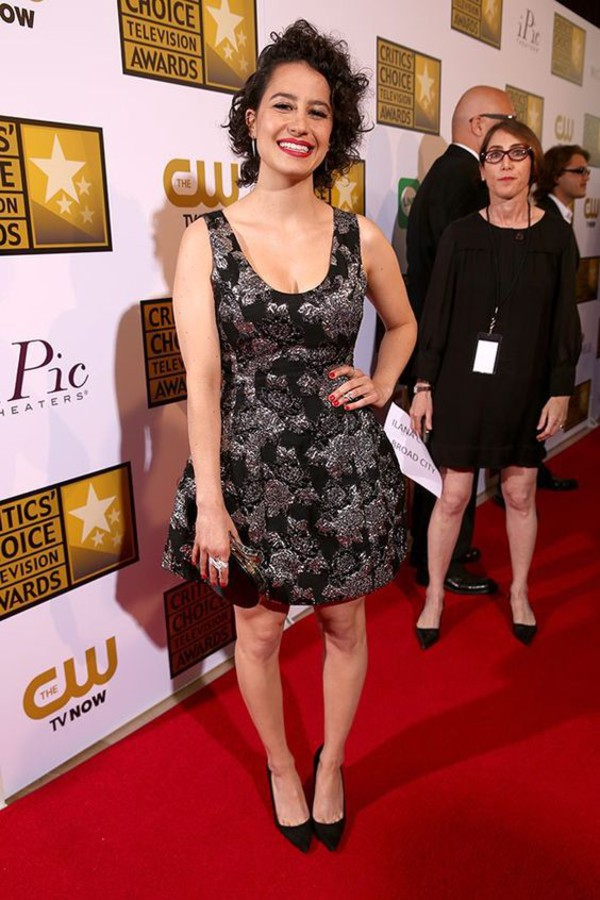 Dress Ilana Glazer Celebrity Style Celebrity Red