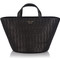 Italian woven leather mini basket bag | meli melo