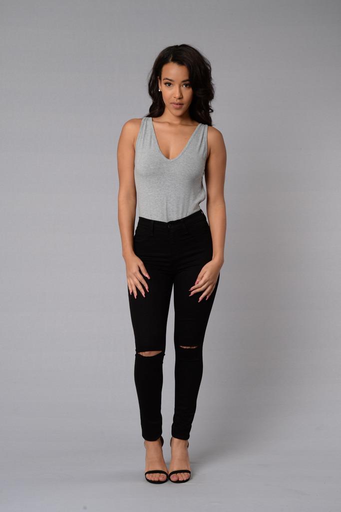 Canopy Jeans , Black