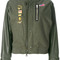 Nike - nikelab x rt destroyer jacket - women - wool/polyester/viscose/nylon - xl, green, wool/polyester/viscose/nylon