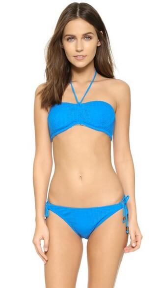 bikini bikini top bandeau bikini mesh swimwear