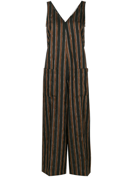 GOLDEN GOOSE DELUXE BRAND jumpsuit women black pattern paisley