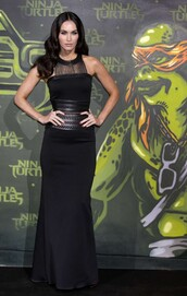 dress,megan fox,black,maxi dress