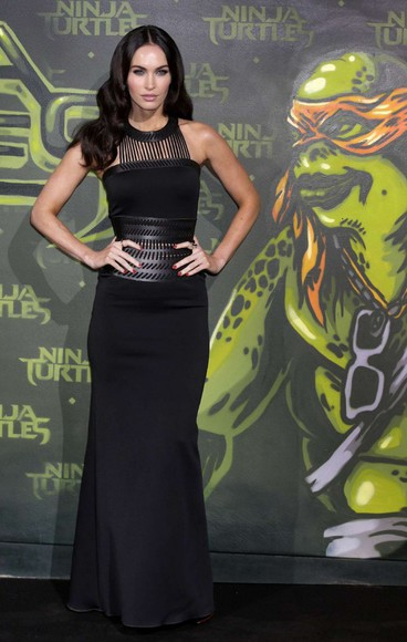 megan fox dress black maxi dress