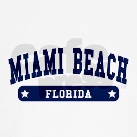 Miami Beach College Style Sweater on CafePress.com