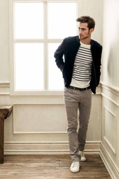 stripes,menswear,sweater,coat,jacket,mens jacket,mens baseball jacket