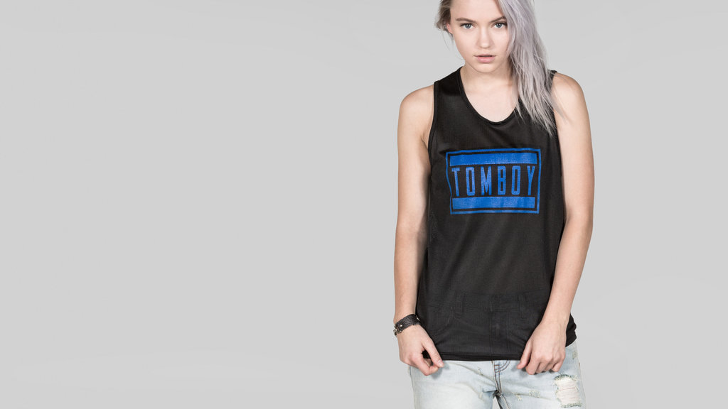 The Tomboy Advisory Mesh Tank by Petals & Peacocks | WILDFANG